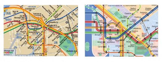 Brooklyn train line comparison