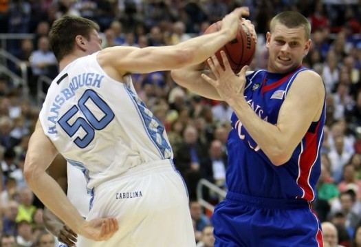 Aldrich rips the ball away from Hansbrough