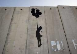Banksy wall - 2