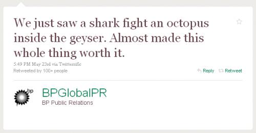 BPGlobalPR - Shark v octopus