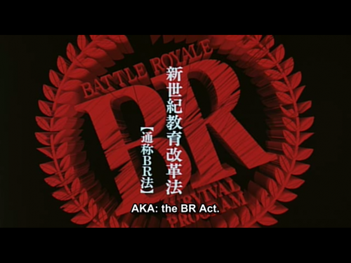 Battle Royale - Batoru Rowaiaru