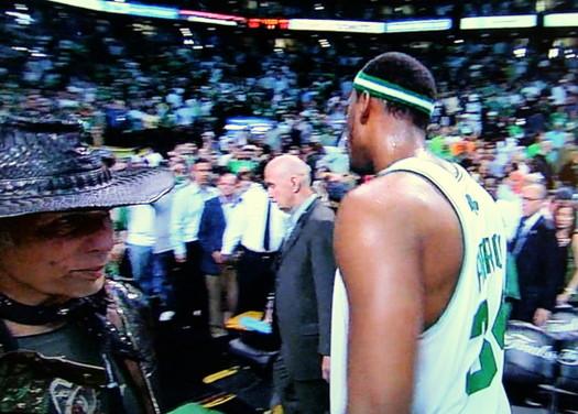 Crazy NBA Finals guy