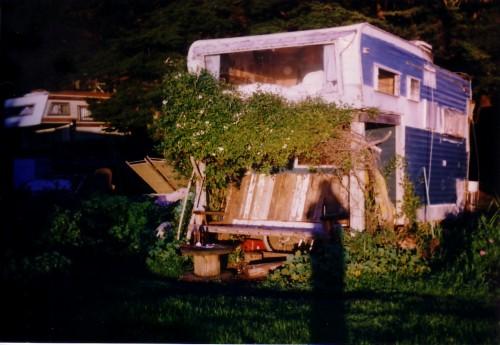 Slide Ranch - blue trailer - 1996