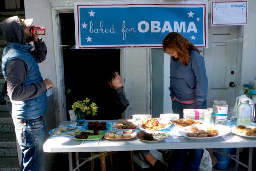 Bake sale for Barack Obama