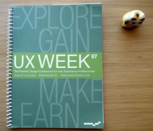 UX Week 2007 Program